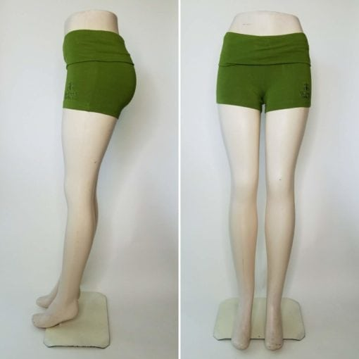 Bambooty Booty Short Lime Green