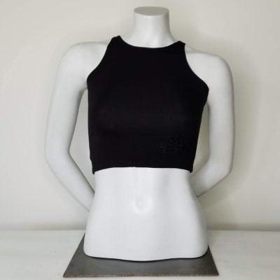 Bambooty Crop Top Black
