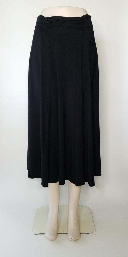 Bambooty Maxi Skirt Black