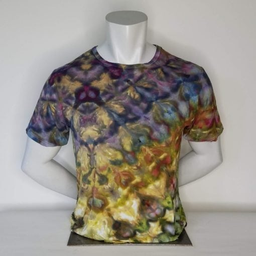 Bambooty Short Sleeve Crew Neck Hand Dyed