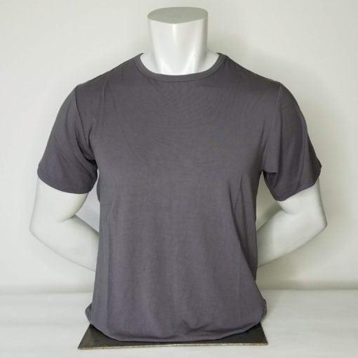 Men's Short Sleeve Crew Neck Slate Gray