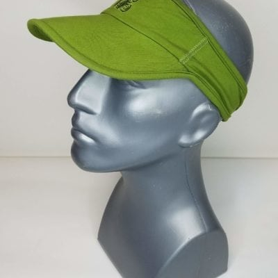 Bambooty Lime Green Visor