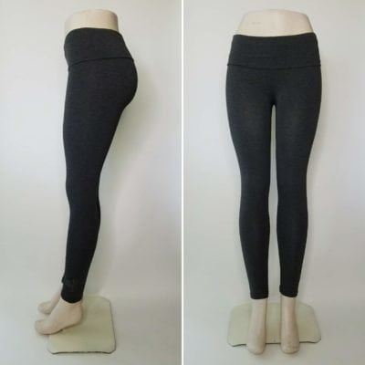 Bambooty Yoga Pant Heather Gray