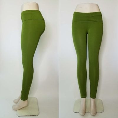 Bambooty Yoga Pant Lime Green