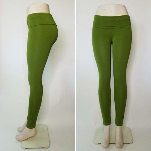 Bambooty Yoga Pant Lime Green