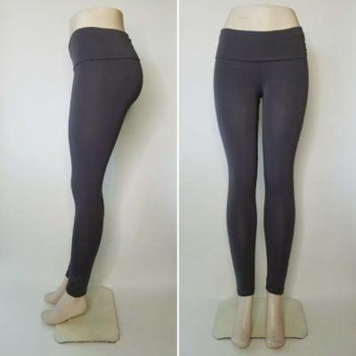 Bambooty Yoga Pant Slate Gray