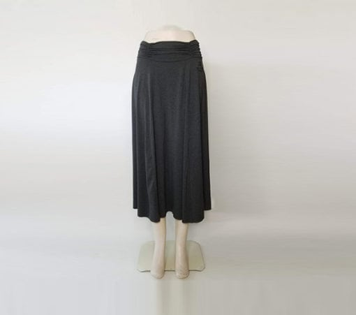 Heather Gray Elegance Skirt