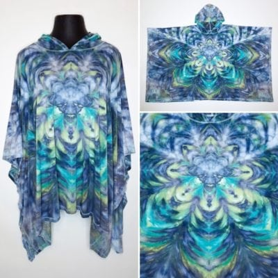 Bambooty-Hooded-Poncho-Hand-Dyed-14